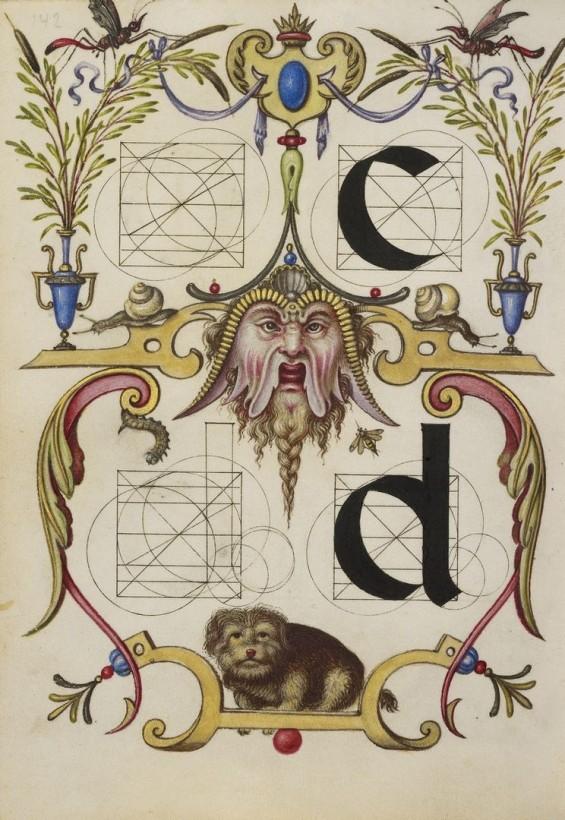Hoefnagel-typographie-police-construction-minuscule-symbole-07