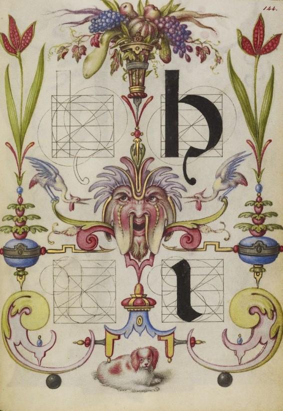 Hoefnagel-typographie-police-construction-minuscule-symbole-10