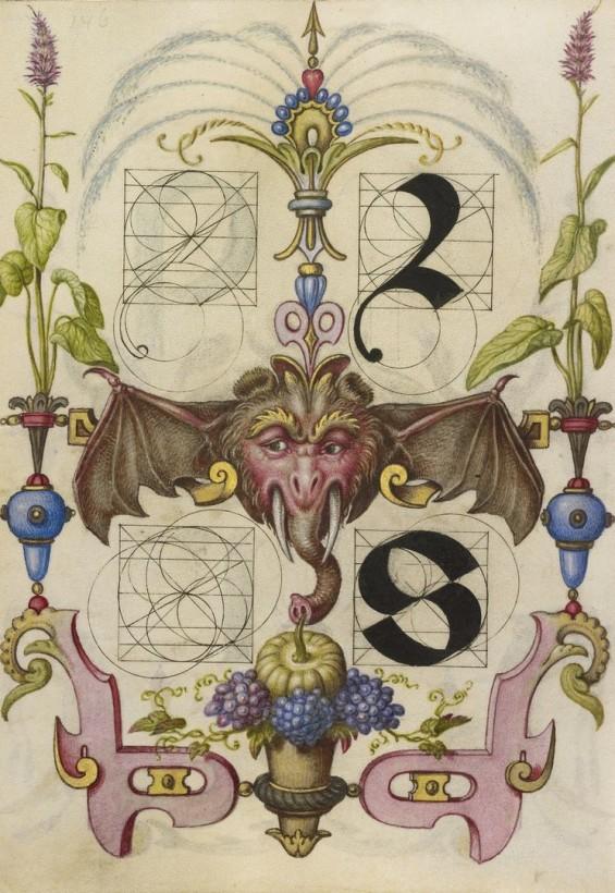 Hoefnagel-typographie-police-construction-minuscule-symbole-16