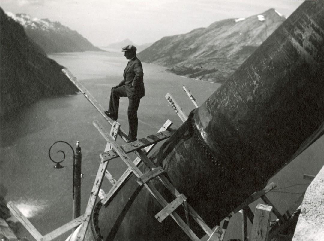 construciton-Glomfjord-centrale-electrique-01
