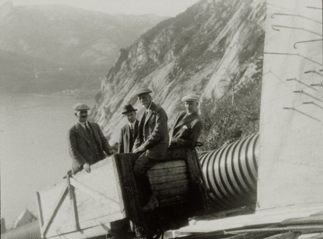 construciton-Glomfjord-centrale-electrique-04