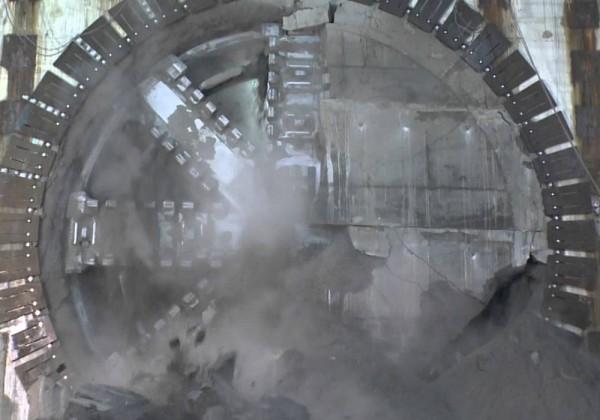 Dans les nouveaux tunnels du métro de Londres
