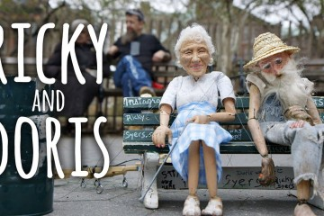 Ricky rencontre Doris, une histoire de marionnettes