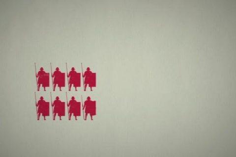 Une visualisation de l'organisation de l'armée Romaine
