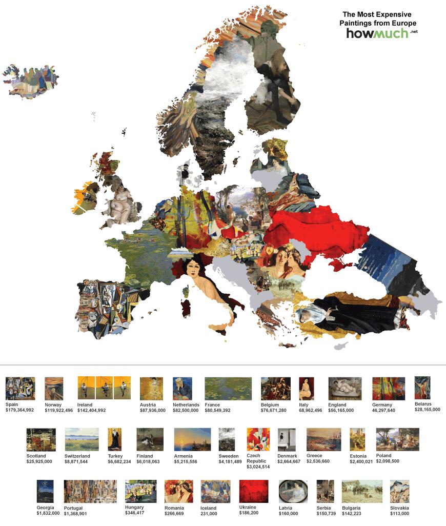 Carte Monde Peinture Chere 01 La Boite Verte