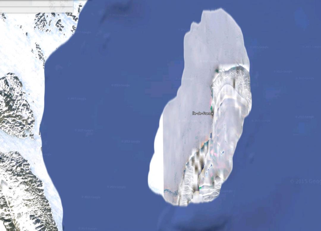Elle est très jolie sur Google Earth
