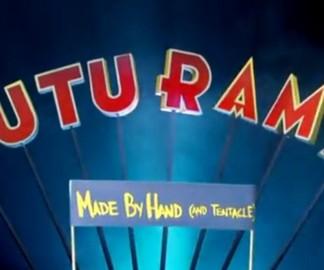 L'intro de Futurama à la main