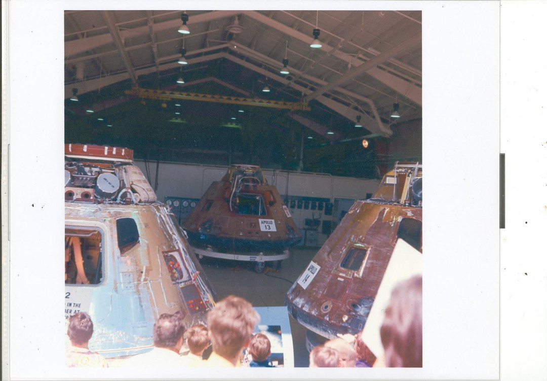 Apollo 12 13 14 North American Rockwell Downey Ca Open day c1972