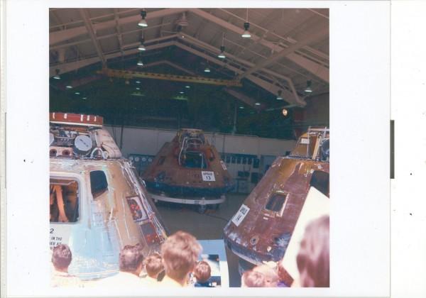 Apollo 12 13 14 North American Rockwell Downey Ca Open day c1972