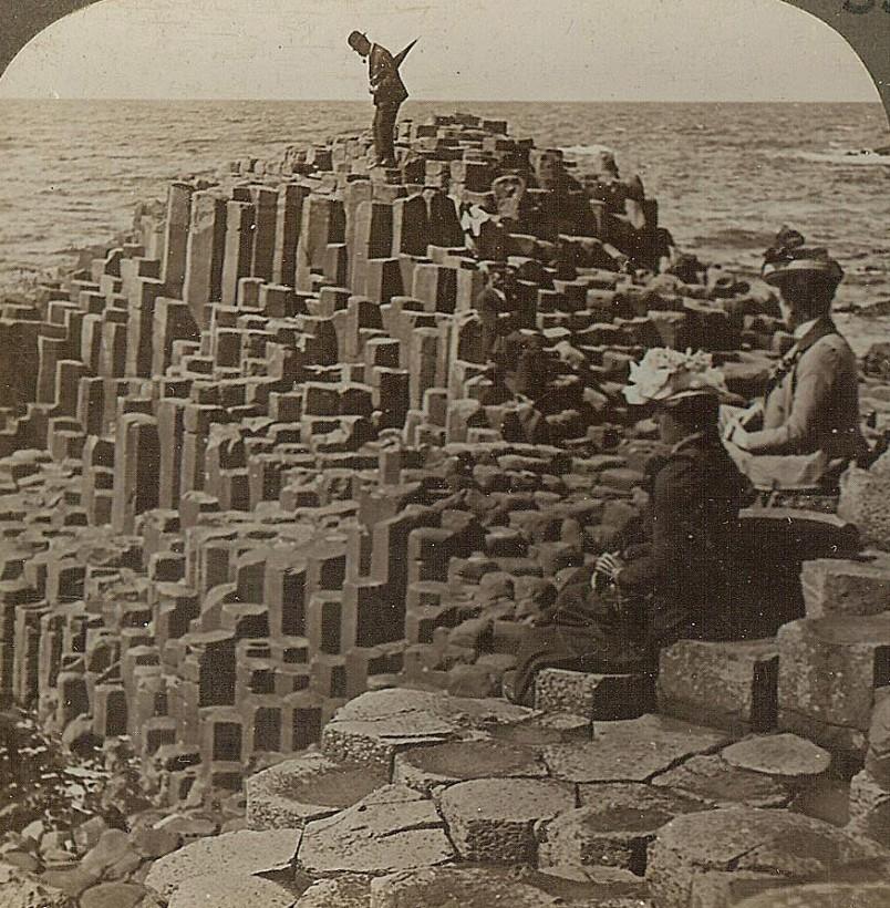 La Chaussee des Géants irelande 1902