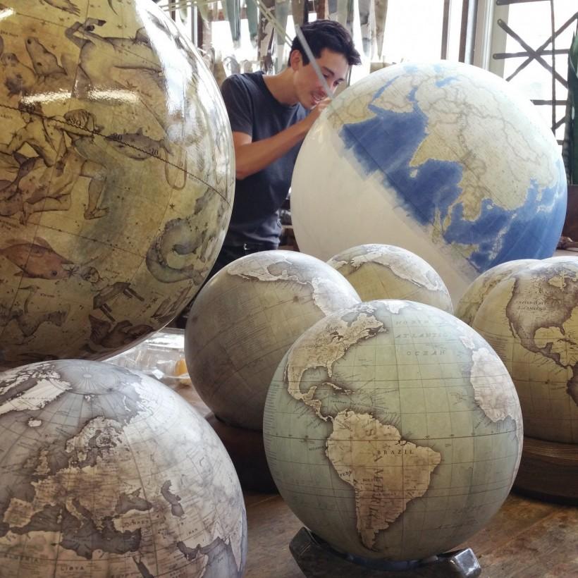 fabrication-globe-terrestre-artisanale-08