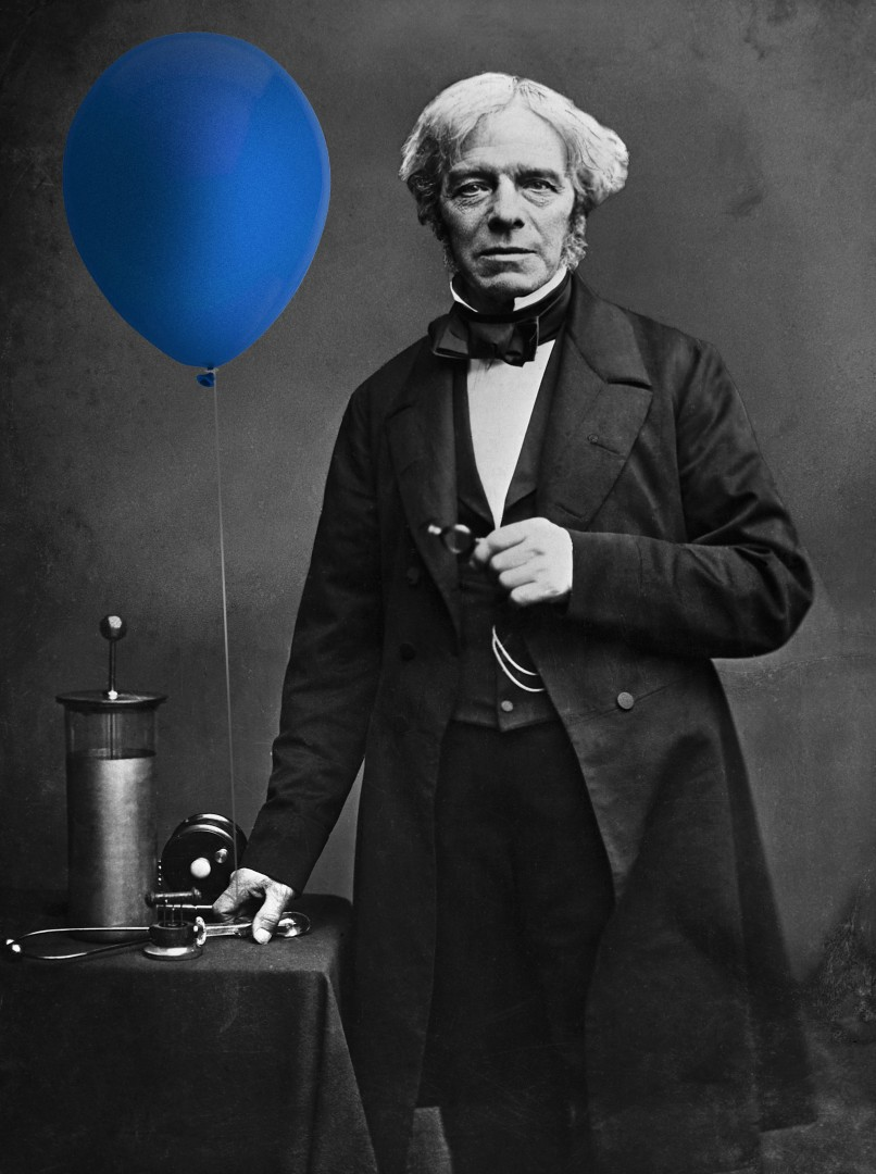 michael-faraday-ballon-baudruche-invention