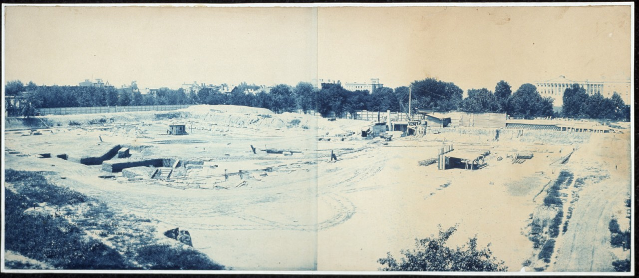 01Excavation-of-site-for-the-Library-of-Congress-Washington-DC-1888