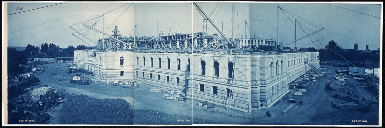 20Construction-of-the-Library-of-Congress-Washington-DC-Oct-17-1891