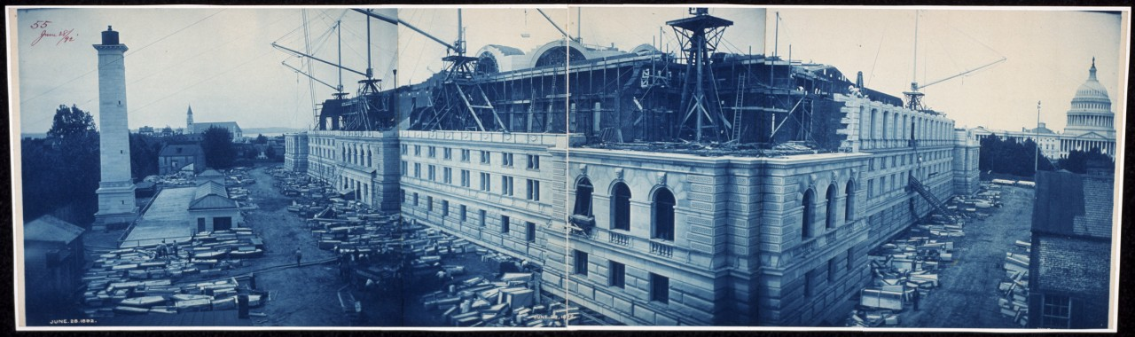 35Construction-of-the-Library-of-Congress-Washington-DC-June-28-1892