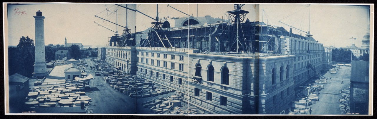 37Construction-of-the-Library-of-Congress-Washington-DC-July-18-1892