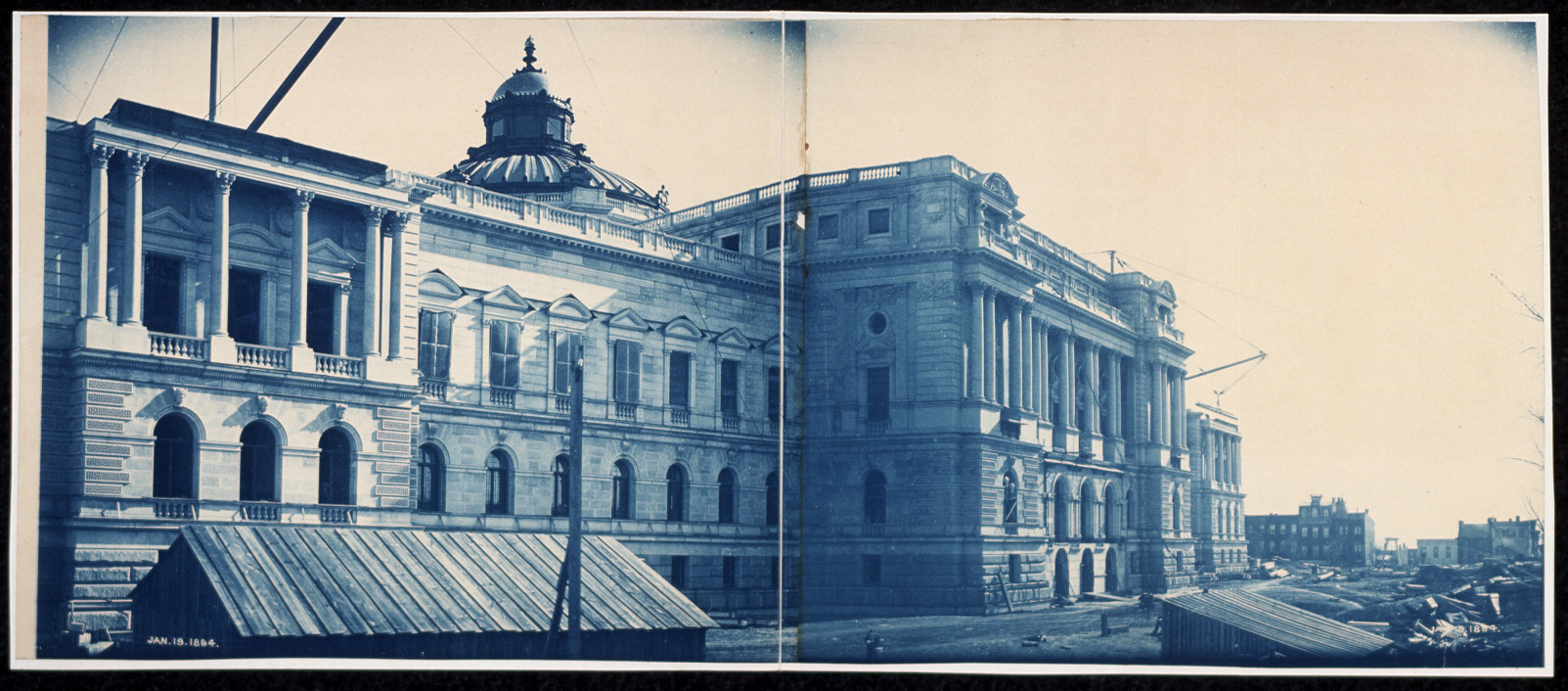 41construction of the library of congress washington dc jan 19 1894
