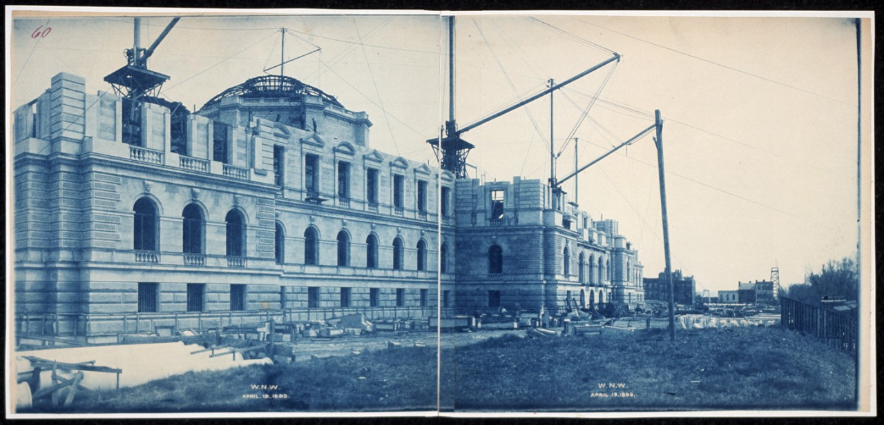 43Construction-of-the-Library-of-Congress-WNW-Washington-DC-April-19-1893