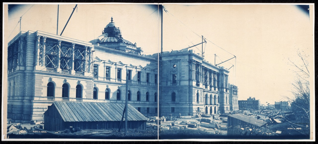 47Construction-of-the-Library-of-Congress-Washington-DC-Nov-1-1893-2