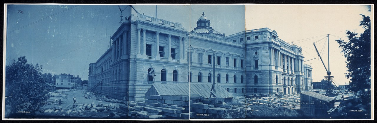 51Construction-of-the-Library-of-Congress-Washington-DC-May-15-1894