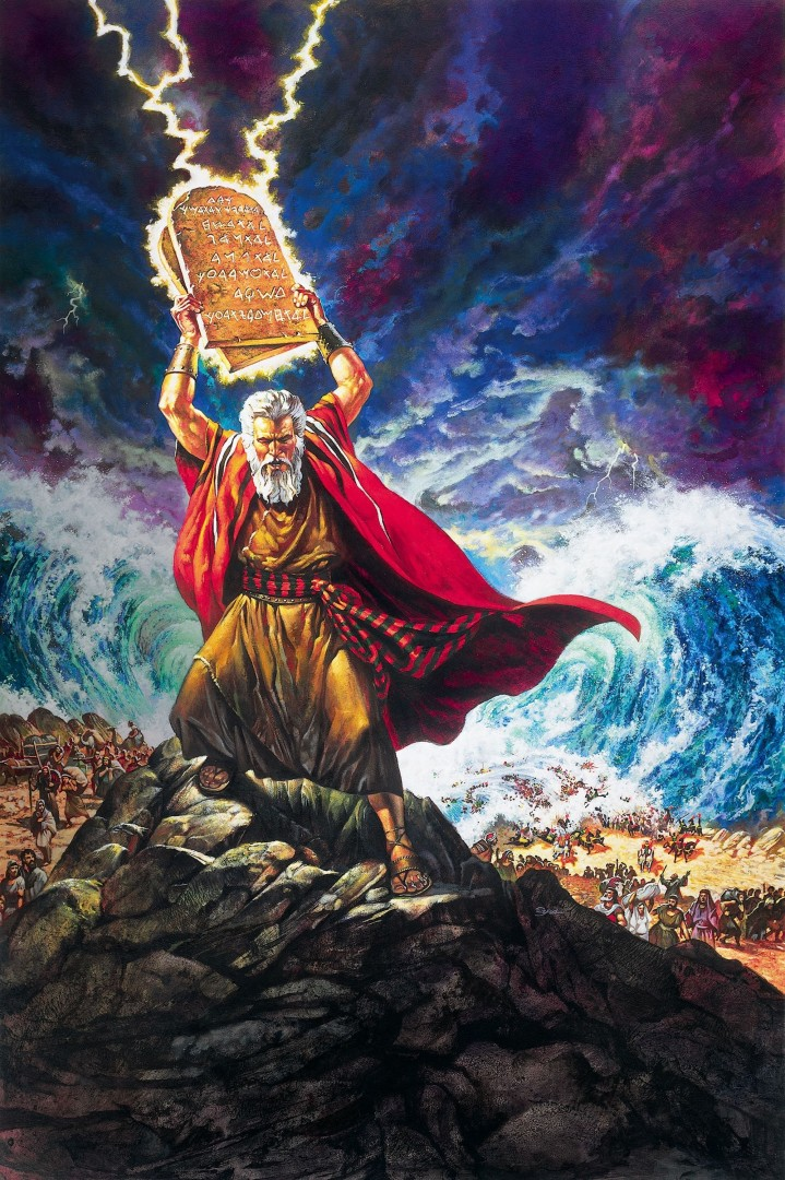 73 - The Ten Commandments