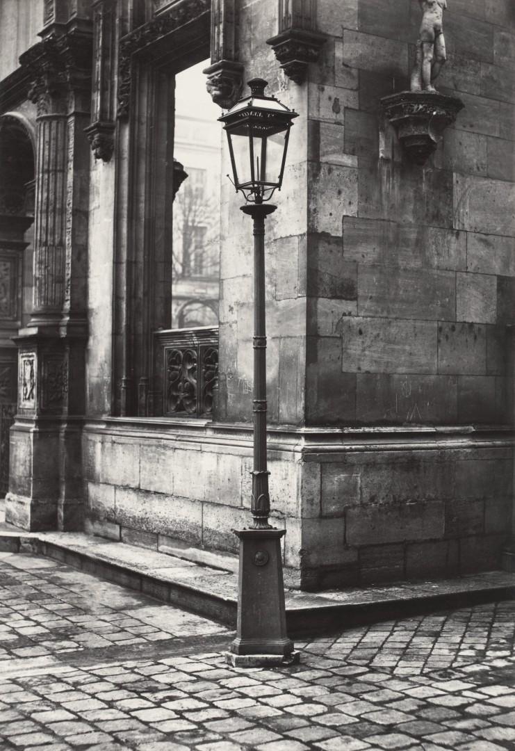 Lampadaire_Paris_Charles_Marville_École_des_Beaux-Arts_cour_1878