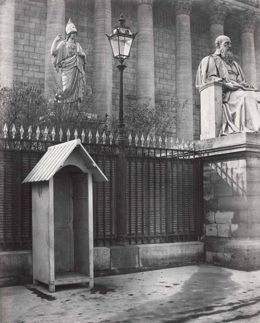 Lampadaire_Paris_Charles_Marville_Corps_Legislatif_façade_sur_le_quai_1878