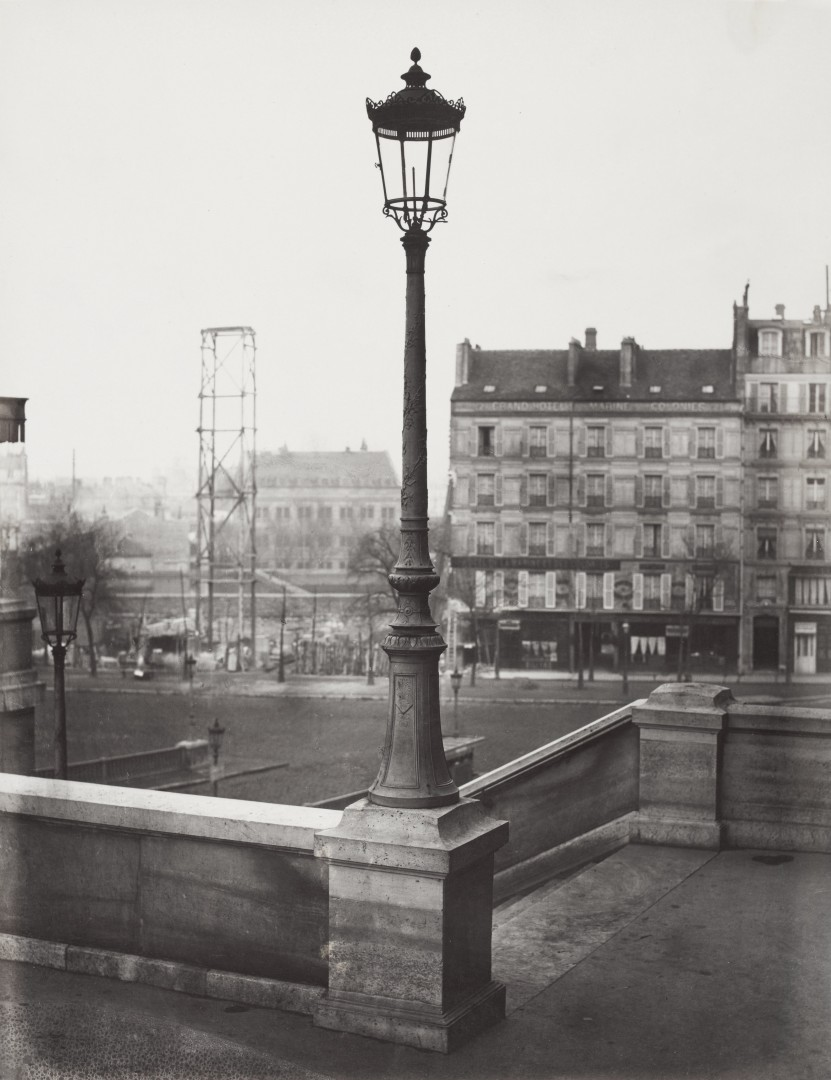 Lampadaire_Paris_Charles_Marville_Gare_de_Queste_Montparnasse_1878