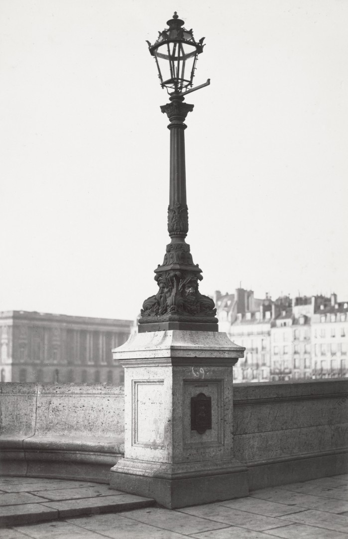 Lampadaire_Paris_Charles_Marville_Pont_Neuf_1878
