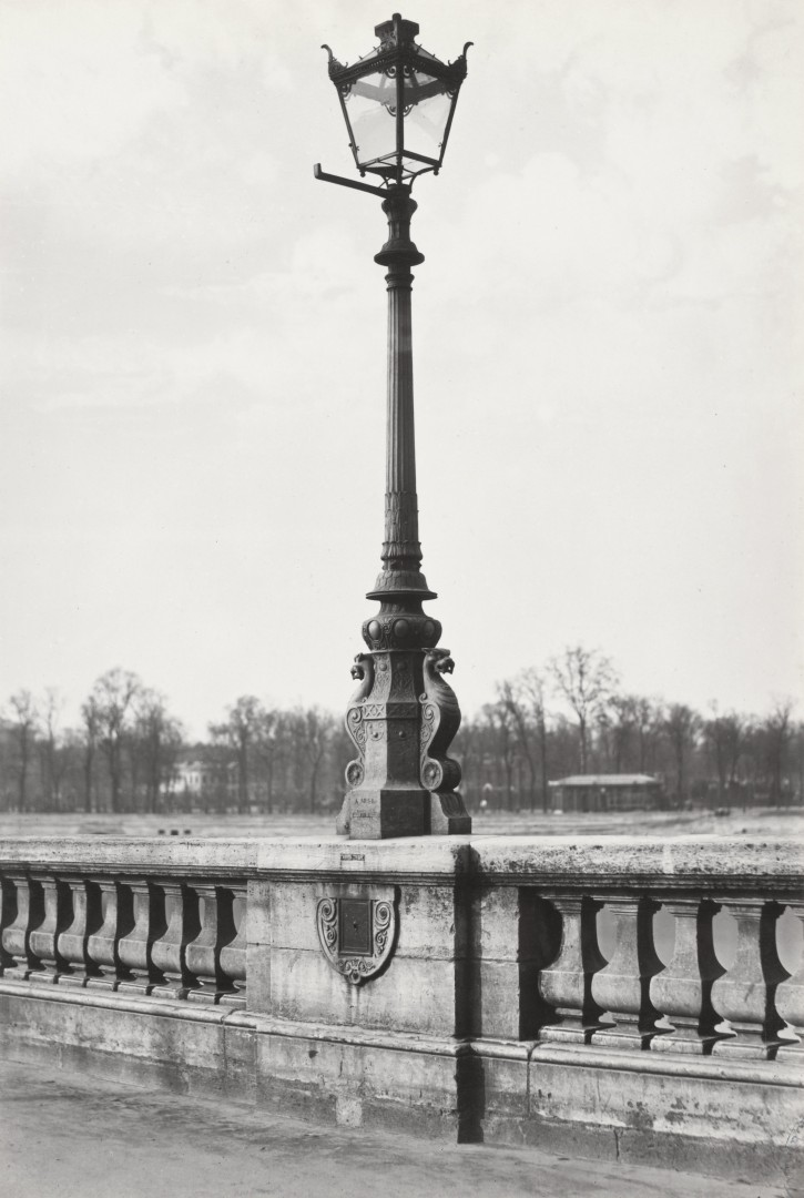 Lampadaire_Paris_Charles_Marville_Pont_de_la_Concorde_1878