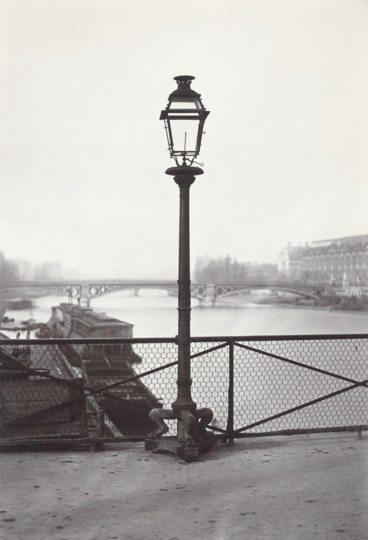 Lampadaire_Paris_Charles_Marville_Pont_des_Arts_1878
