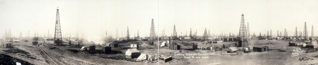 Looking-towards-Burkburnett-from-3-4-mile-west-1919