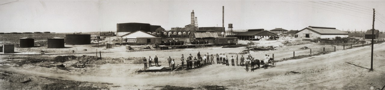 Union Oil Company - Backerfield, Californie - 1910