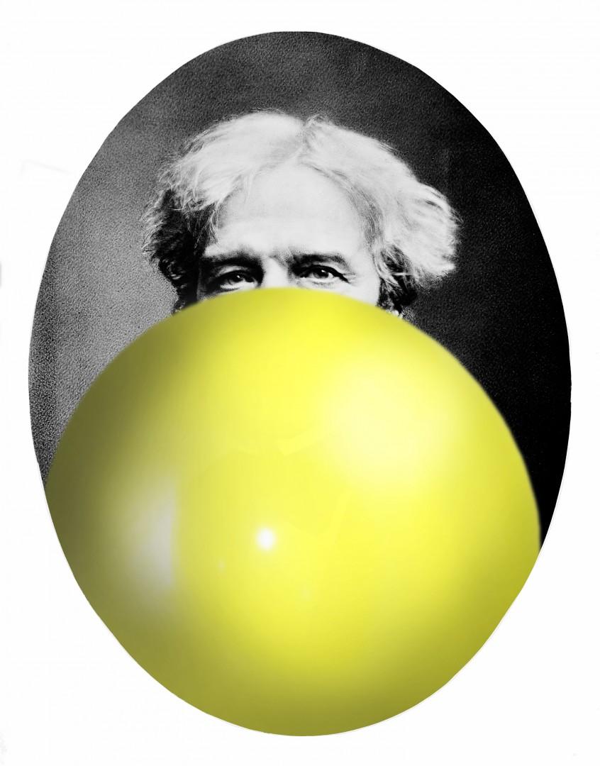 M0005948 Michael Faraday. Photograph by Henry Dixon & Son Ltd.