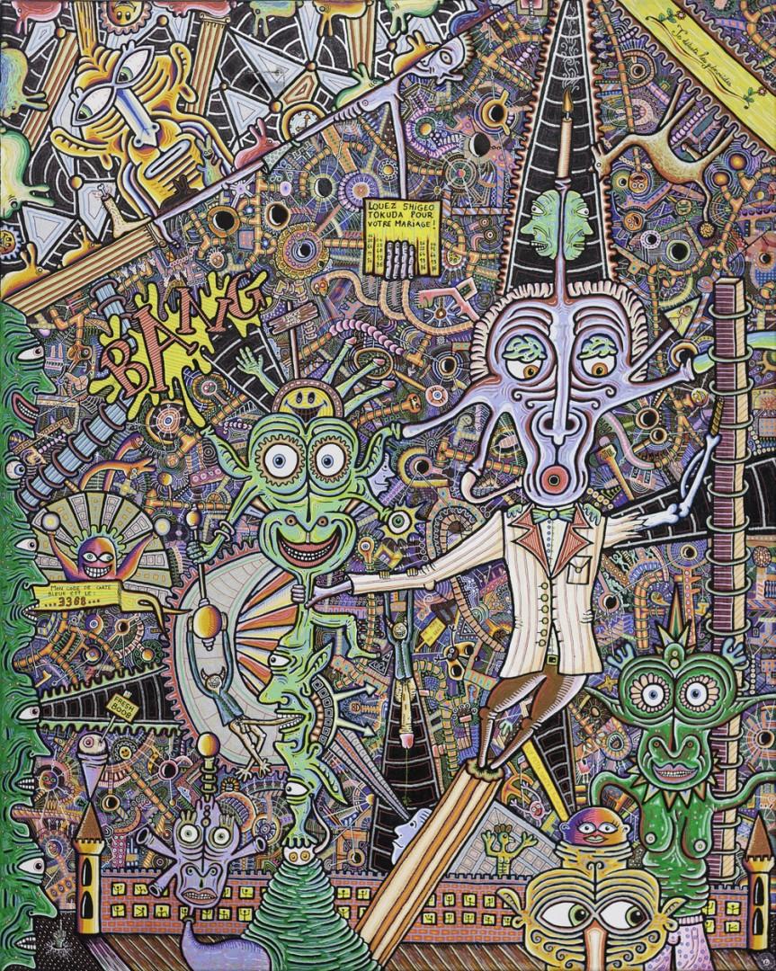 4 - Exposition Léonard Combier du 22 au 31 octobre 2012 à la galerie Alexandre Cadain. 76, rue Quincampoix 75003 - oct 12 -
