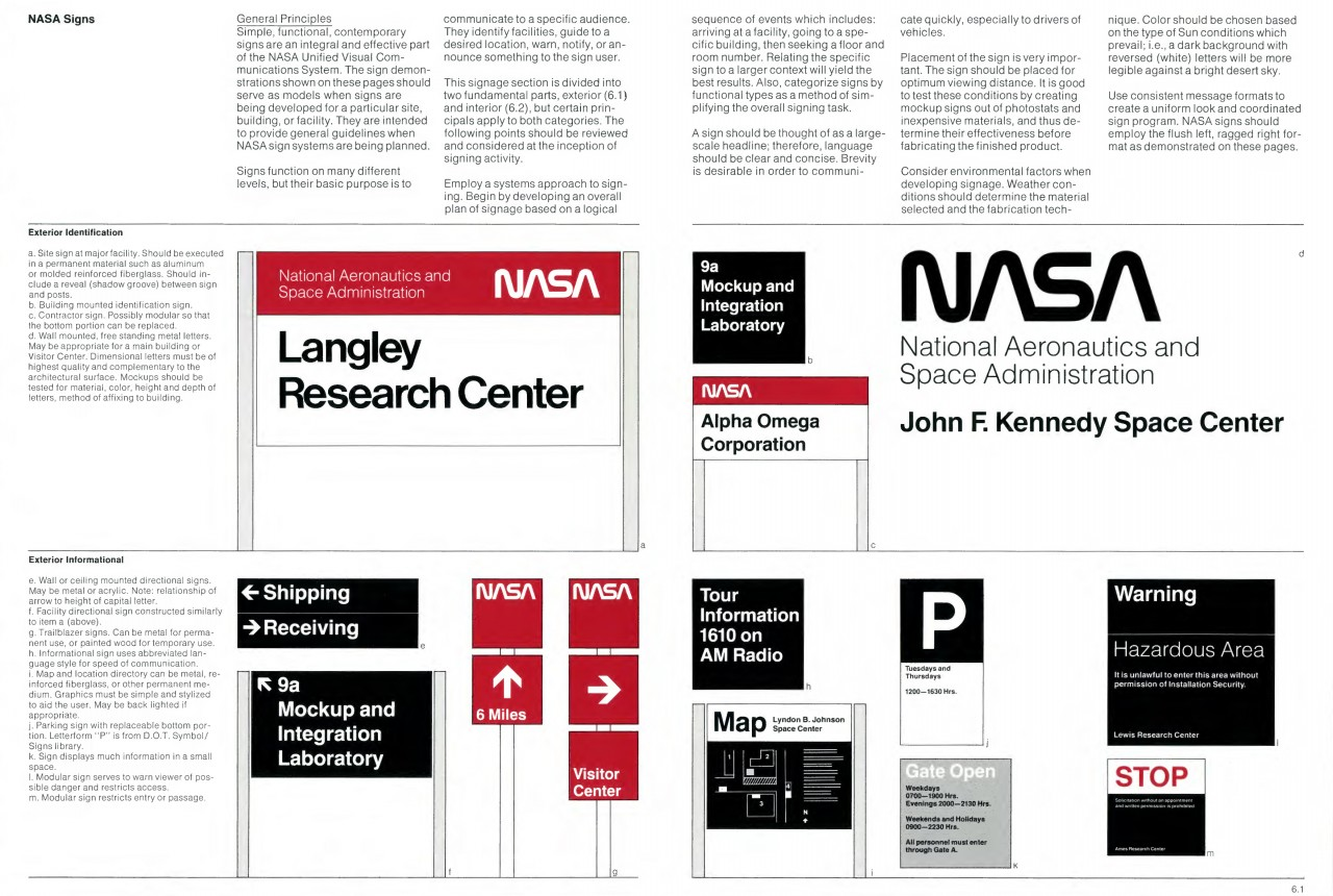 NASA Graphics Standards Manual (NHB 1430.2) (January 1976)