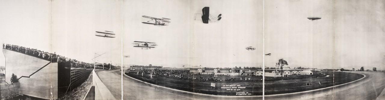 1er meeting aérien Indianapolis Motor Speedway - 1910