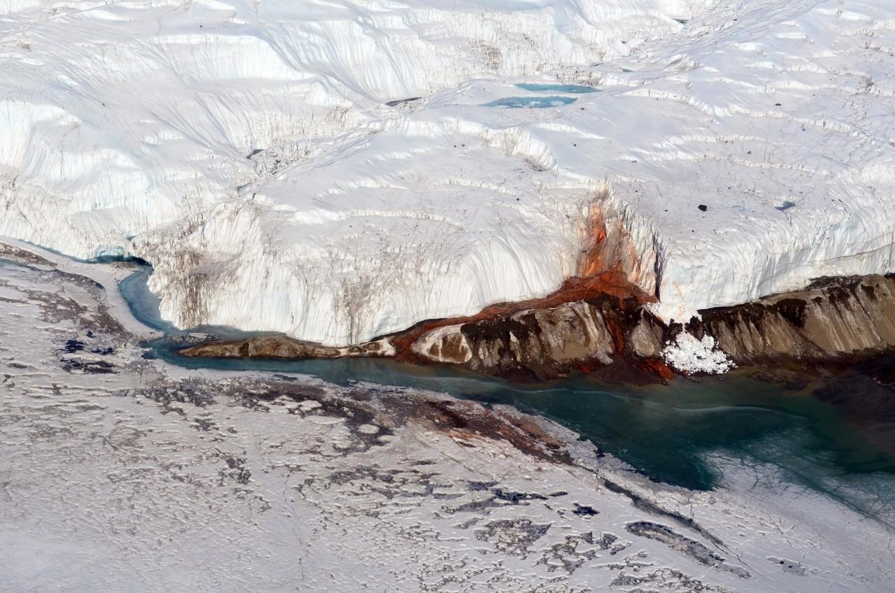 Ce dépôt rougeâtre est découvert par le géologue Thomas Griffith Taylor en 1911 dans la vallée qui porte son nom, la vallée de Taylor - Peter Rejcek