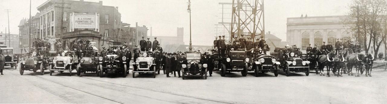 Les pompiers de Niagara - 1921