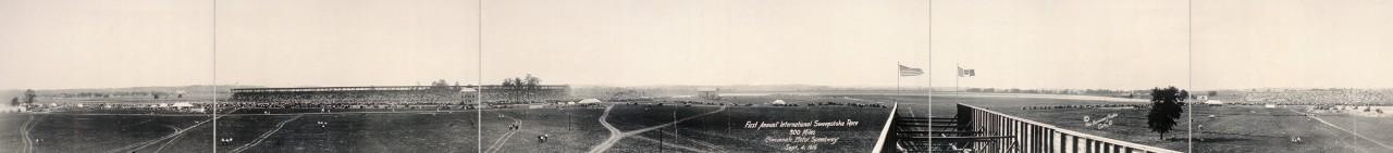 Première édition de la course des 300 miles de Cincinnati - 1916