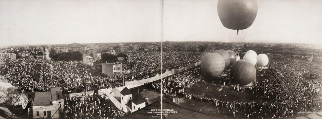 Concours de ballon, Chicago - 1908