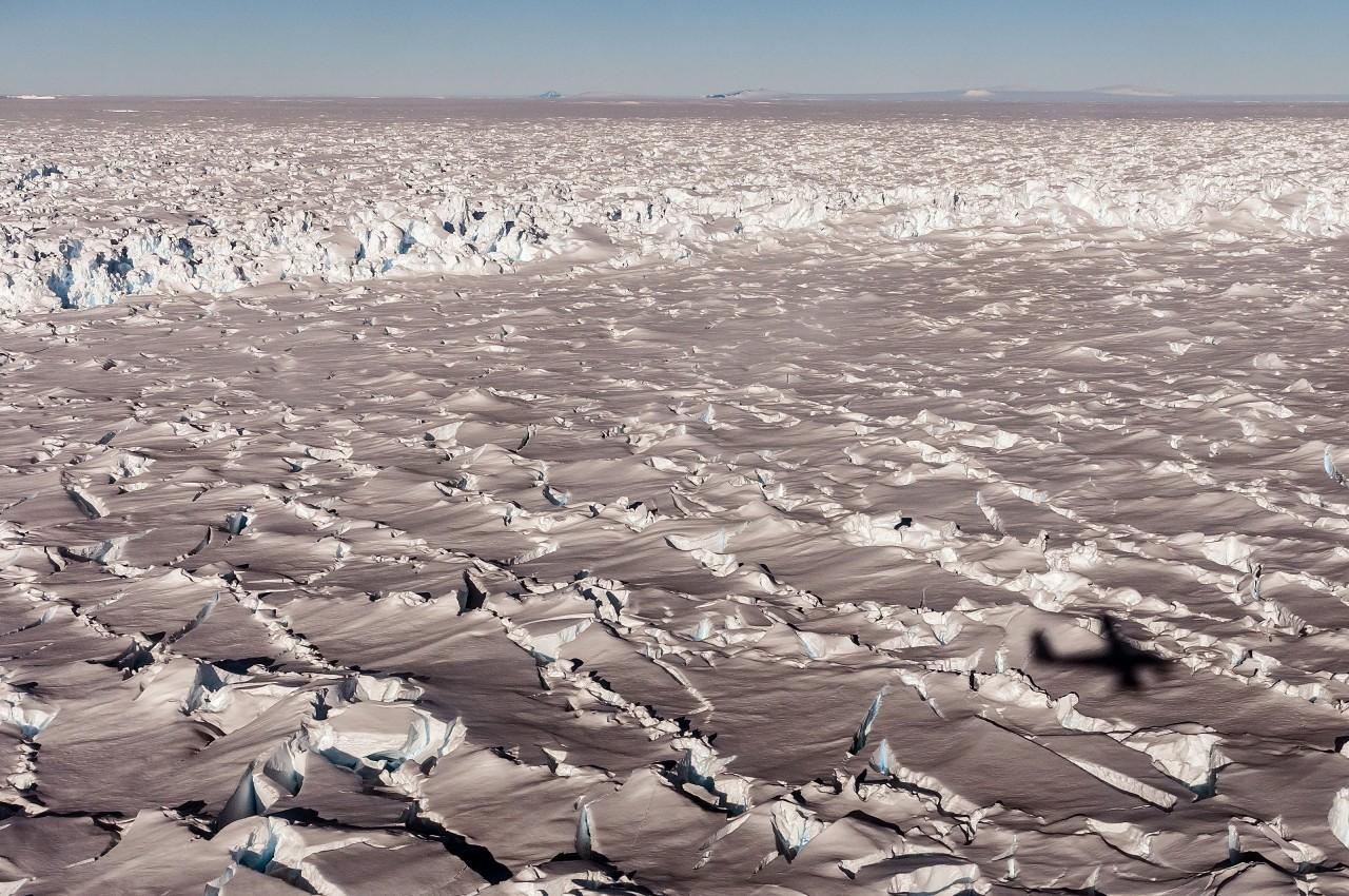 Le glacier de Pine Island