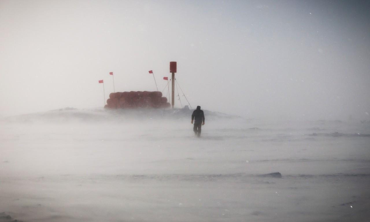 Pine Island dans la tempête