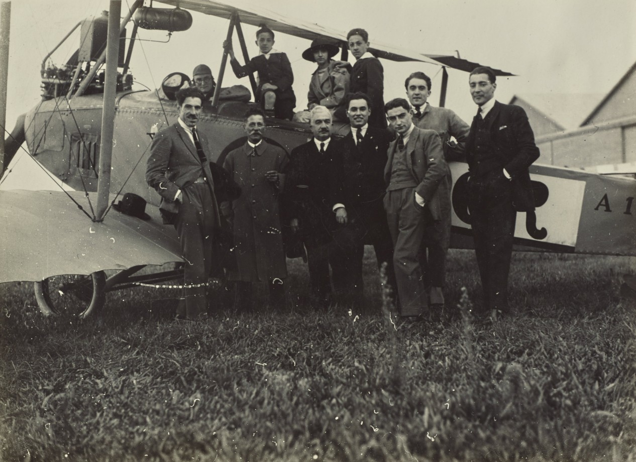 Fedele-Azari-debut-avion-dirigeable-italie-57