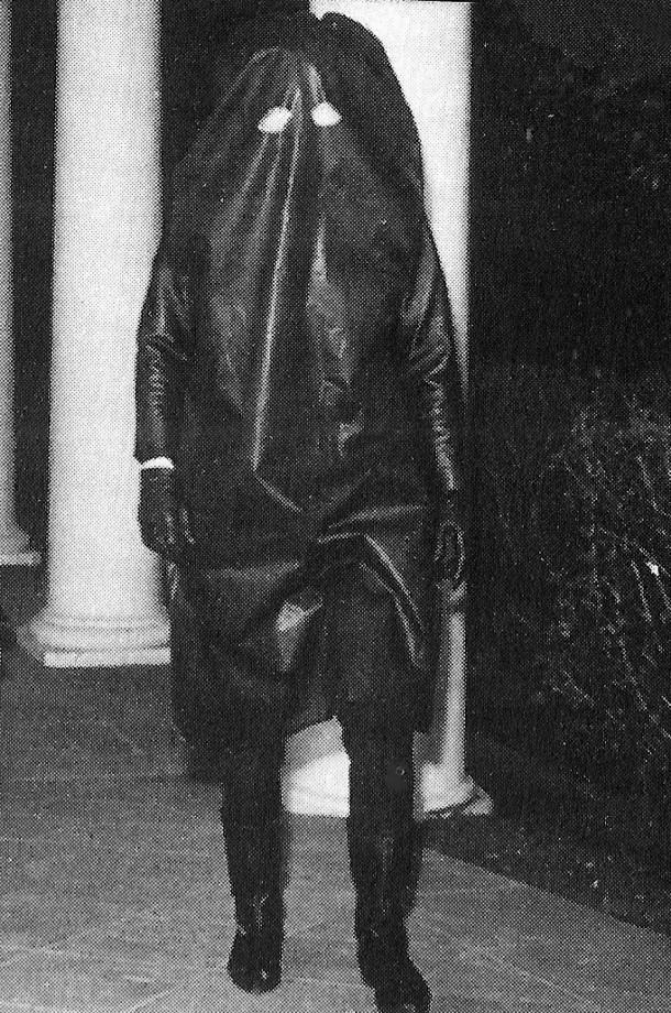 Jackie Kennedy dans on costume Halloween à la Maison Blanche en 1962