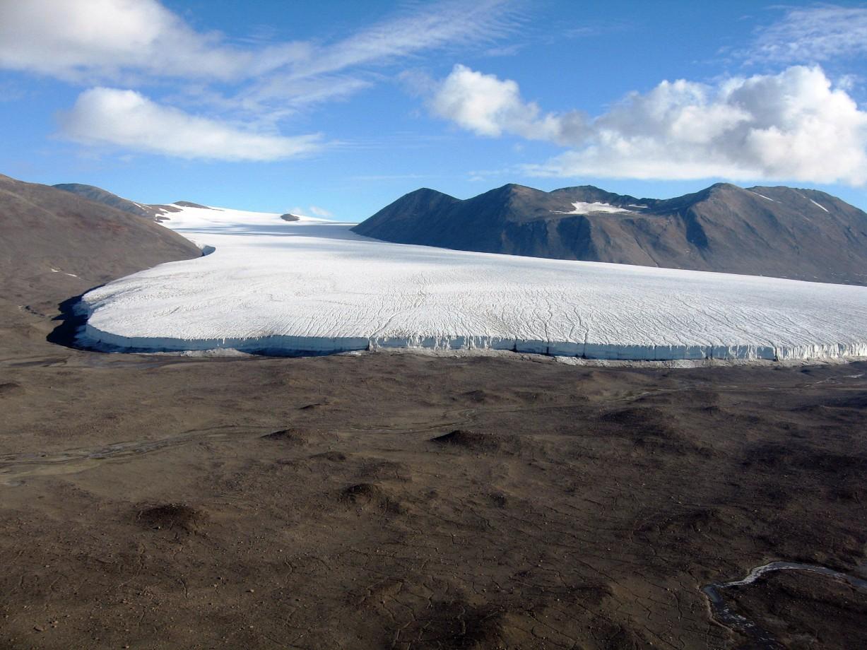 Le Commonwealth Glacier -