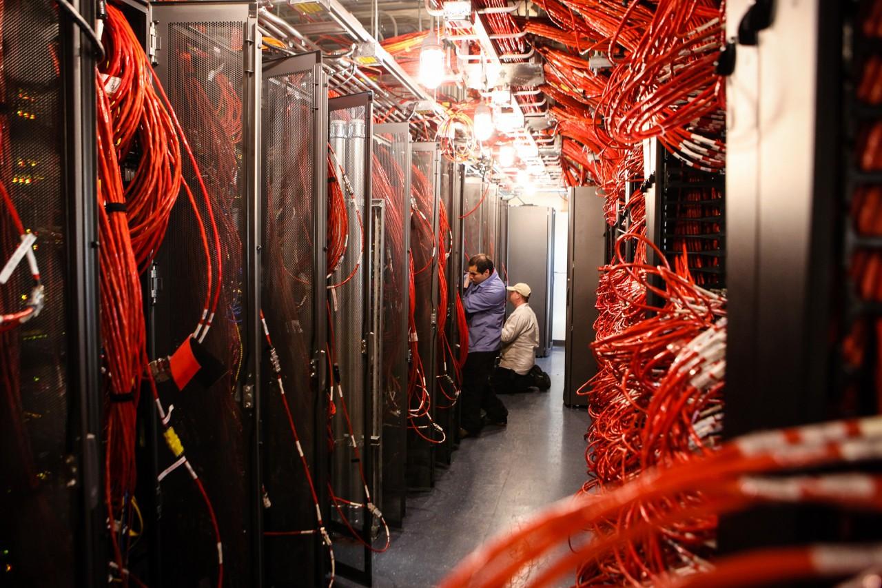 La salle des serveurs de l'IceCube, un détecteur géant de neutrinos - Jeffrey Donenfeld