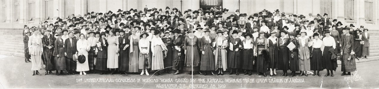 1st-International-Congress-of-Working-Women-called-by-the-National-Womens-Trade-Union-League-of-America-Washington-DC-October-28-1919