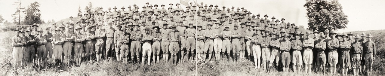 Battery-C-1st-Regt-NY-Field-Artillery-National-Guard;-taken-at-training-camp-at-Plattsburg-NY-August-1917