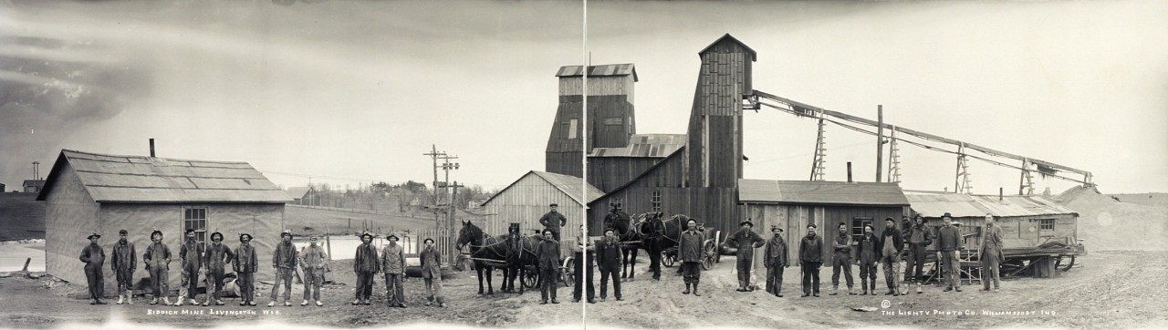 Biddick-Mine-Livingston-Wis-1915